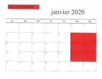 APERCU DES RESERVATIONS 2020